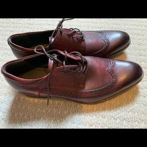 Aldo men's wing tip shoes